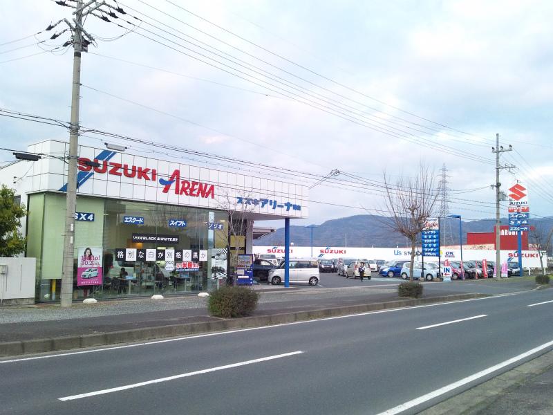 (株)スズキ自販京都 スズキアリーナ峰山