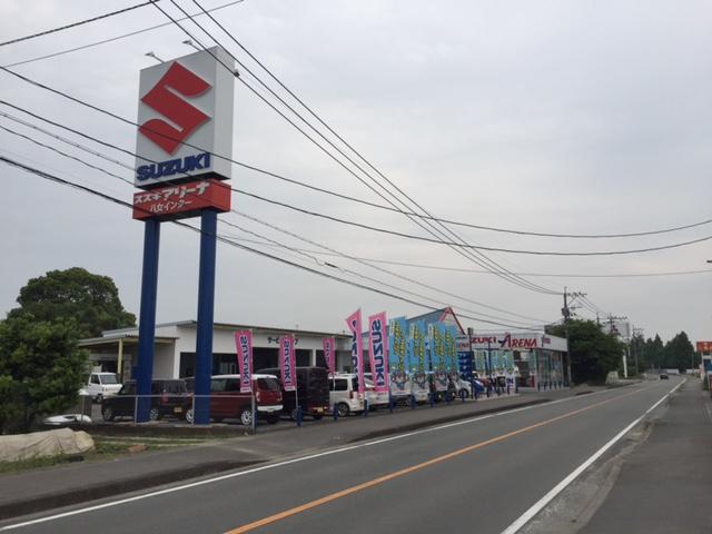 福岡中央スズキ自動車販売(株) アリーナ八女インター