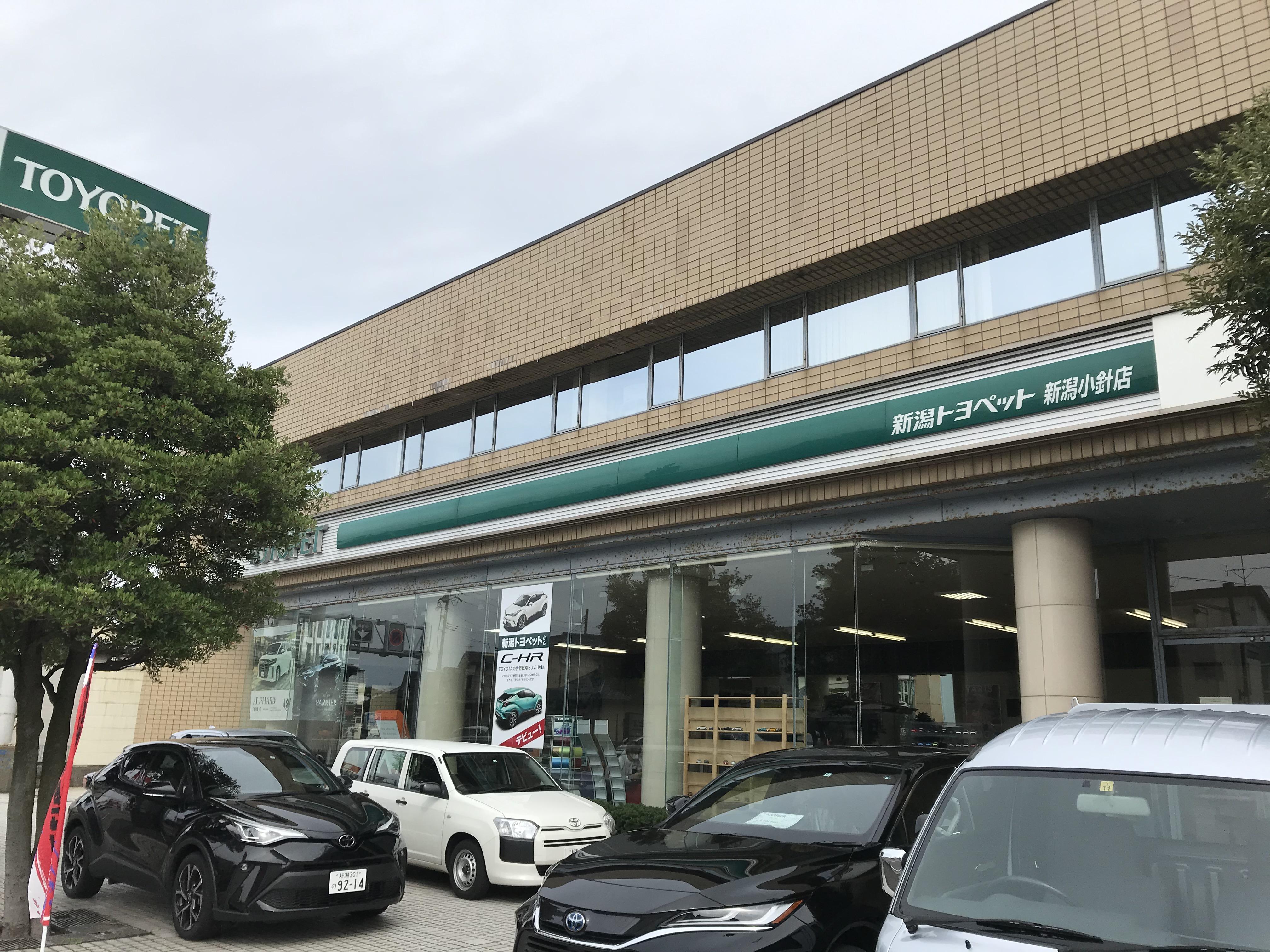 新潟トヨペット株式会社 新潟小針店